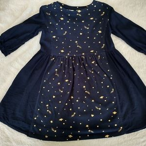 Gap Kids planets•stars•hearts dress